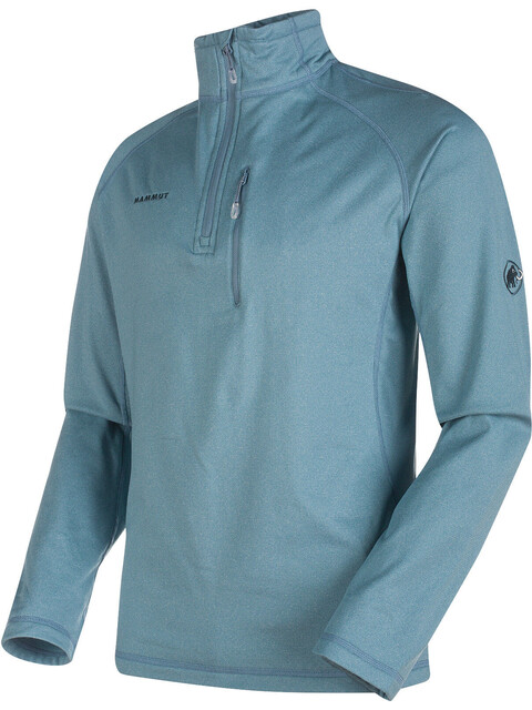 Mammut Runbold ML Half Zip Pull Men cloud mélange